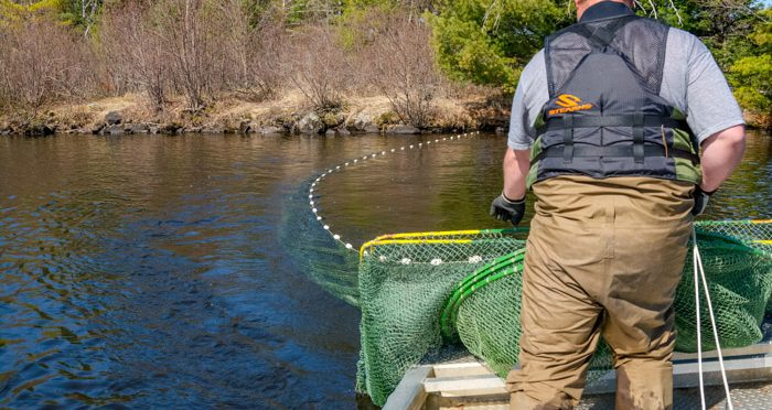 Fyke Netting with the Wisconsin DNR