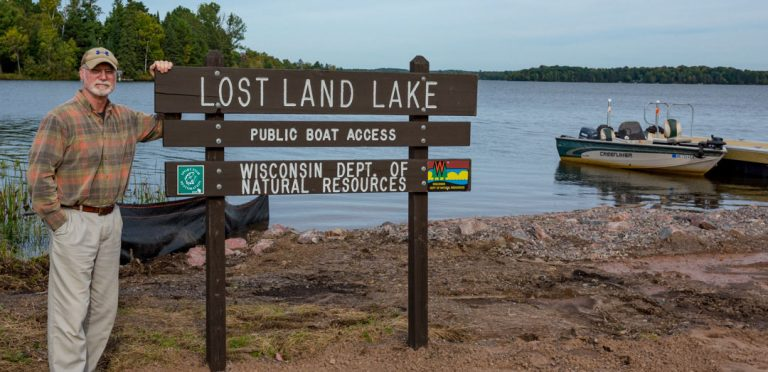 09/28/18 Update: DNR boat landing at Lost Land Lake  NOW OPEN for public use!